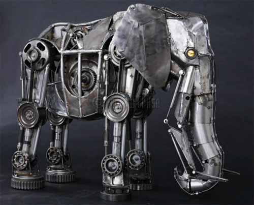 Elephant Recycled Arts and Crafts