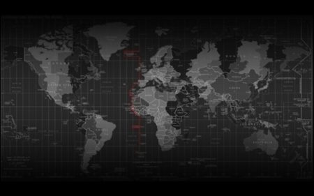 Time-Zone-Map-black-wallpapers